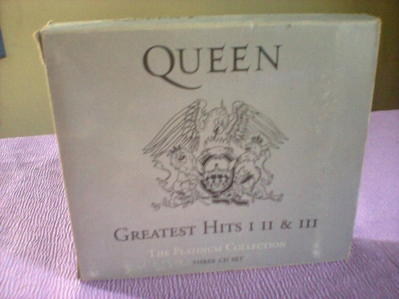 Cds Originais Da Banda Queen: Relíquia: R$129,00