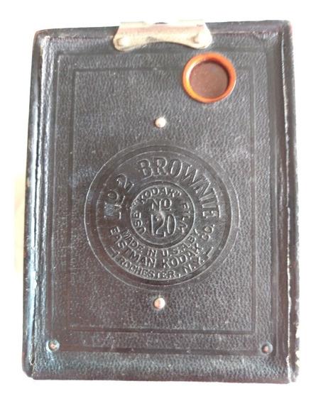 Câmera Antiga Kodak Numero 2 Brownie