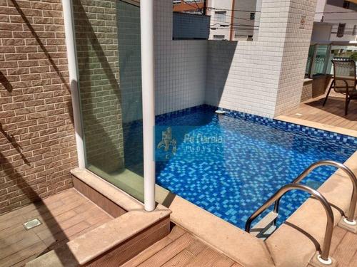 Apartamento Com 2 Dormitórios À Venda, 65 M² Por R$ 400.000,00 - Canto Do Forte - Praia Grande/sp - Ap0900