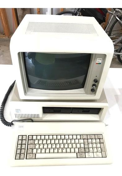 Ibm Pc-xt 5160, Monitor Colorido Ibm 5153!!!!