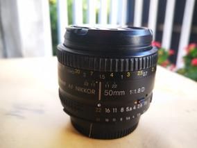 Lente Nikon 50mm F1.8d