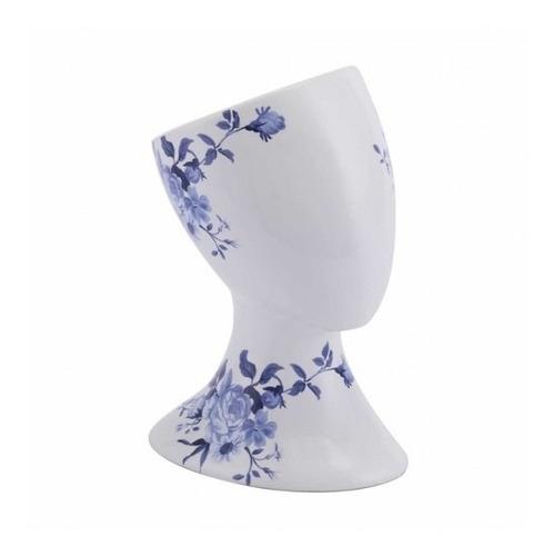 Imagen 1 de 4 de Accesorio Decorativo Modelo Rostro Derecho - Azul/blanco Kës