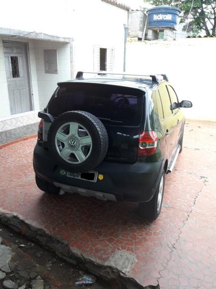 Volkswagem Crossfox 1.6 Total Flex Preto