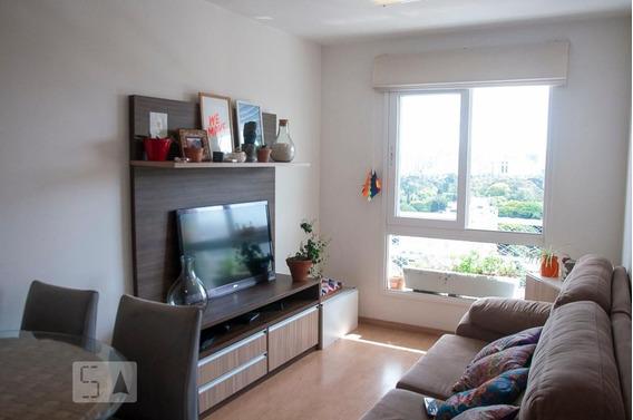 Apartamento No 16º Andar Com 1 Dormitório E 1 Garagem - Id: 892987723 - 287723