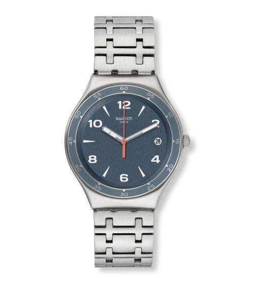 Relógio Swatch Enrik Ygs479g Aço Prata Original
