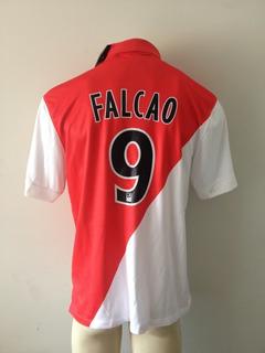 Camisa As Monaco 2014-2015 Falcao 9 Oficial Nova Na Etiqueta