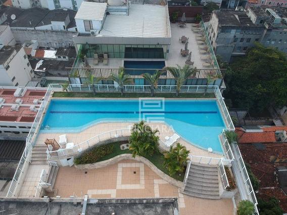 Flat Para Alugar, 32 M² Por R$ 2.100/mês - Lapa - Rio De Janeiro/rj - Fl0002