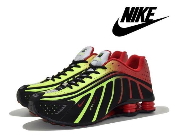 Tênis Masculino Nike Shox R4 Neymar Jr. Lançamento Promoç