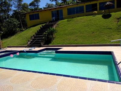 Chácara /6.000 M²/ Casa 3 Dorm / Piscina / Lago Ref 0250