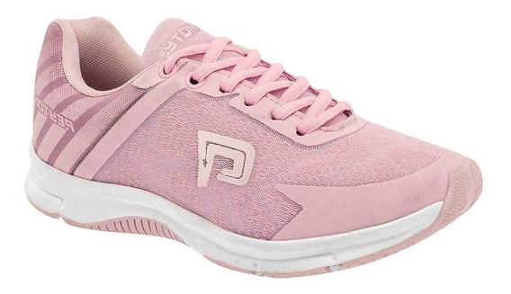 Tenis De Mujer Rosa 090-892