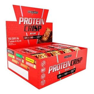 Barra Protein Crisp 12 Un - Integral Médica ( Sabores )