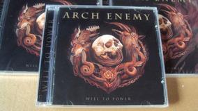 Arch Enemy - Will To Power - Novo E Lacrado