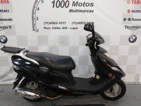 Suzuki Burgman 125 2012 Otimo Estado Aceito Moto
