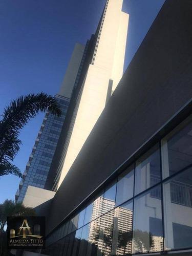 Imagem 1 de 13 de Excelente Andar Corporativo Para Locação Em Osasco - Centro - Helbor Offices - Confira! - Lj0006