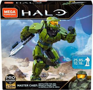 Halo Master Chief Megaconstrux La Batalla Por Arca