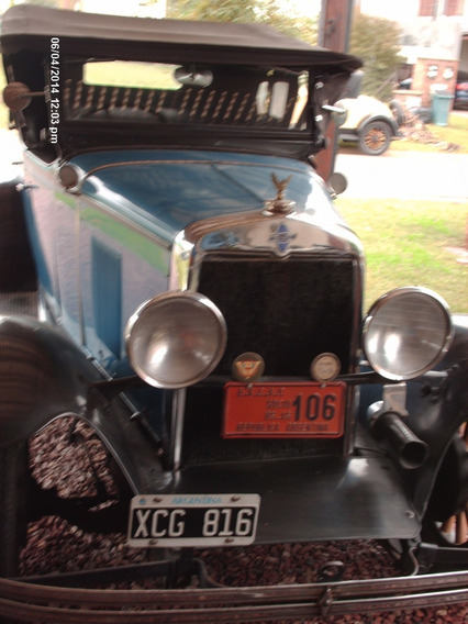 Chevrolet 1929 Phaton