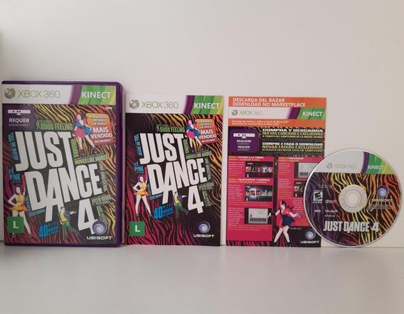 Just Dance 4 Xbox 360 Midia Física Original Completo