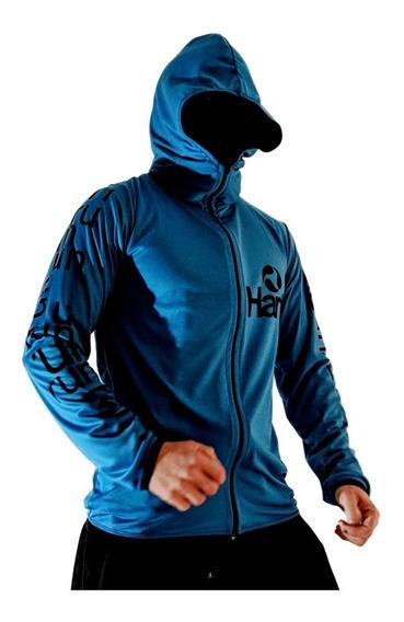 Id443 Buzos Campera Blue Running Hartl Entrenamiento O Casua