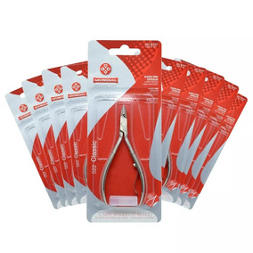 Kit Alicate Mundial 522 Manicure Profissional 10 Unidades