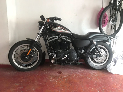 Harley Davidson Sportster Xl 883 R 2007 Preta/fosca -