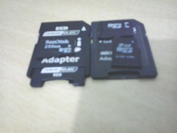 Cartões De Memória 2 Cartões De 2gb Cada + 1 Cartão De 256mb