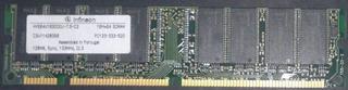 Ram 128mb Pc133 Infineon Hys64v16300gu 133mhz Sdr Sdram Dimm