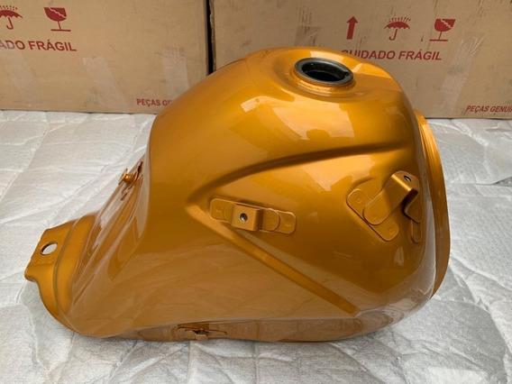 Tanque Combustível Honda Xre300 Dourado Original Novo