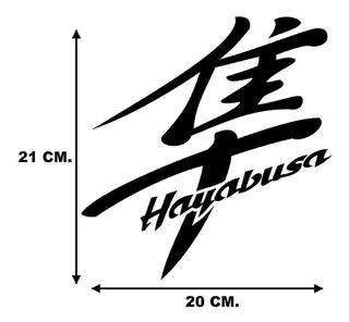 Calcomanias, Calcas, Hayabusa Moto