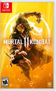 Nintendo Switch Mortal Kombat 11 (nuevo, Sellado De Fabrica)