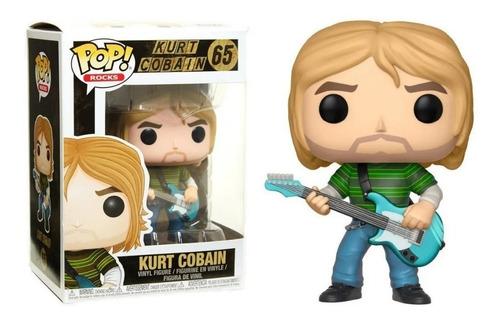 Funko Pop Rock Kurt Cobain Nirvana #65
