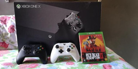 Xbox One X 1tb + 2 Controles + Red Dead 2