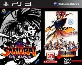 Samurai Shodown 3 & 4 Pack ~ Ps3 Digital