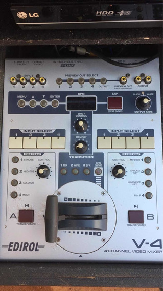 Studio De Transmissão - Mesa De Corte Roland V4, Gravador Hd