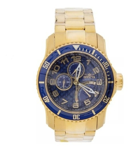 Relógio Masculino Invicta Dourado 15342 Original
