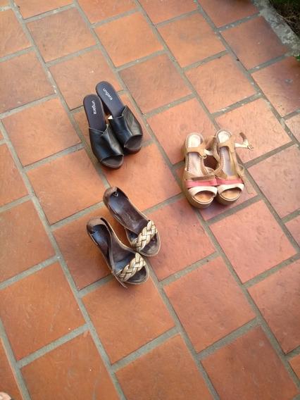 3 Pares.de.zapatos De.mujer