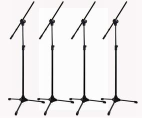 Kit C/4 Pedestal Para Microfone Rmv Psu0142