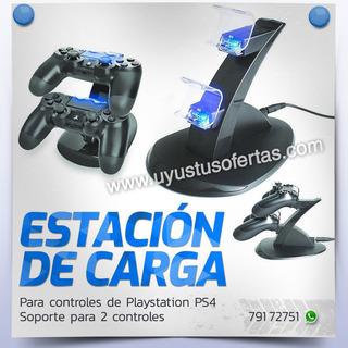 Cargador Para Controles De Playstation 4 Ps4