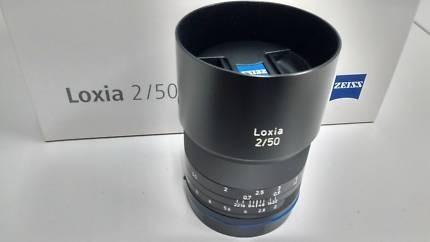 Lente Loxia 50mm Carl Zeiss