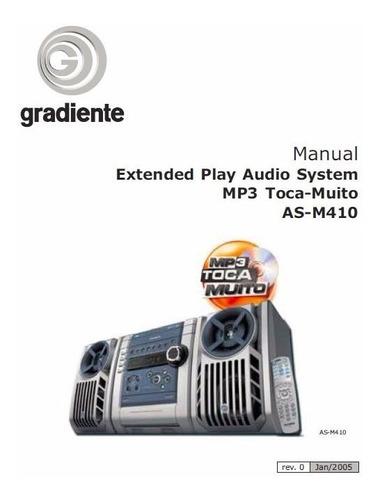 Manual De Serviço System Gradiente As-m410 - Formato Pdf