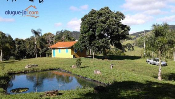 Belíssimo Sítio, À Venda, 387200 M² Por R$ 848.000 - Zona Rural - Paraisópolis/mg - Si0019