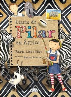 Diario De Pilar En Africa - Flavia Lins E Silva - V&r