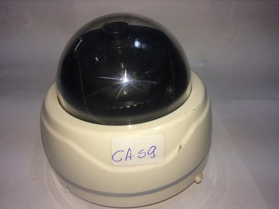 Câmera De Segurança Dome Plástico, Lente 3.6mm (ca 59)