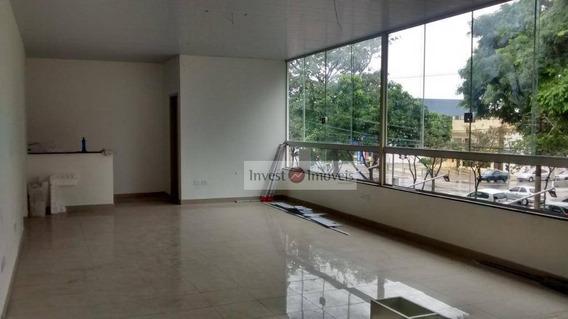 Sala Para Alugar, 50 M² Por R$ 1.200/mês - Sa0187