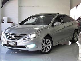 Hyundai Sonata 2.4 16v Automatico 2011 Prata Teto Solar
