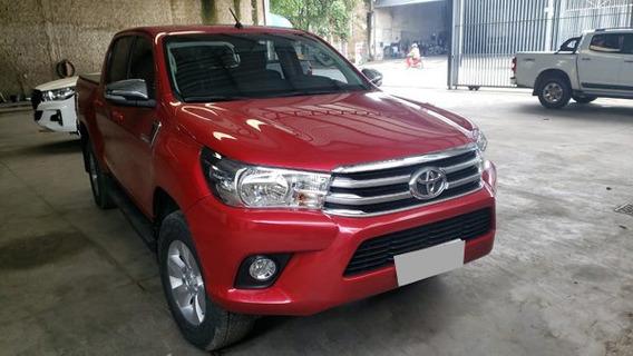 Toyota Hilux Cd Sr 4x4 Ano 2016 Diesel Automática.