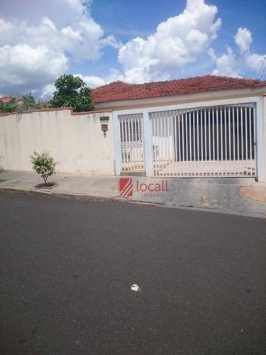 Casa Com 3 Dormitórios À Venda, 343 M² Por R$ 420.000 - Jardim Nazareth - São José Do Rio Preto/sp - Ca1766