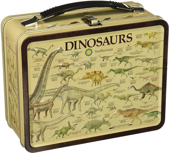 Lonchera Aquarius Smithsonian Dinosaurios