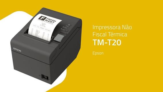Impressora Epson Tm T20 Térmica Não Fiscal Usb - Bematech