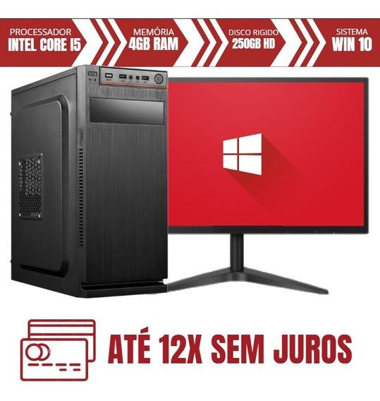 Desktop E Tela Gamer Core I5 250gb Hd 4gb Ram Menor Preço