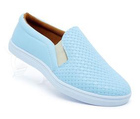 Tênis Feminino Promoção Doma Shoes Azul Bebê